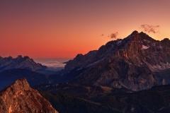 Cernera sunset