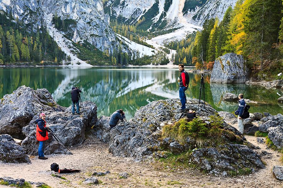 Autumn beauty of Dolomites
