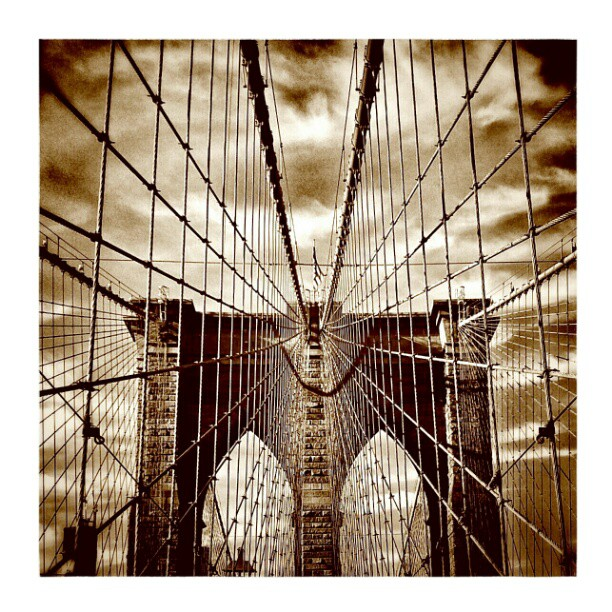 For the Freedom! #freedom #web #ropes #clouds #pillars #bridge #brooklynbridge #brooklyn #manhattan #manhattanheart #instamood #tweegram #ratemygram #followforfollow #likeforlike #sepia #instagood #instatweet #instalife #picoftheday #bestoftheday #ratemygram #city #citylife #dayofmylife #architecture #vintage - from Instagram