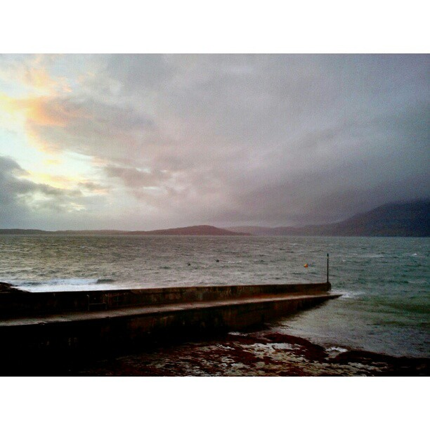 Harbor in storm - from Instagram