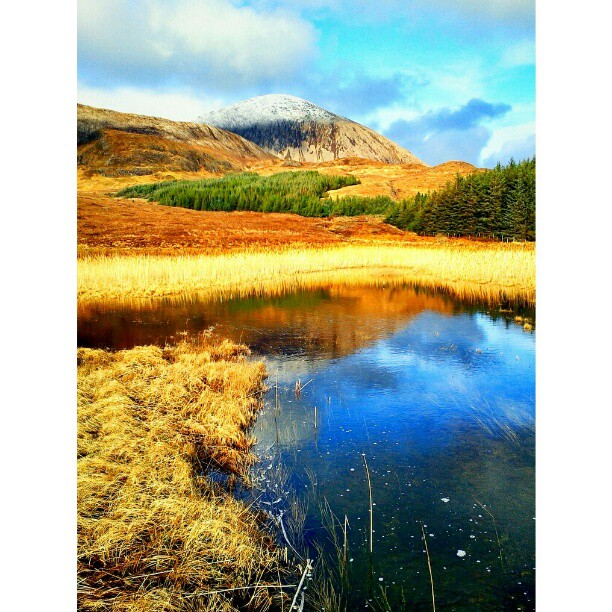 Bein na Caillich mountain - from Instagram