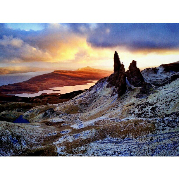 Old Man of Storr - from Instagram