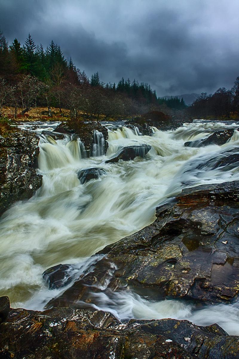 Orchy cascades