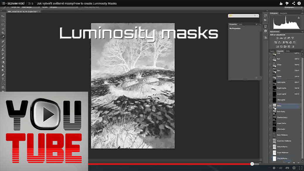 How to create luminosity masks