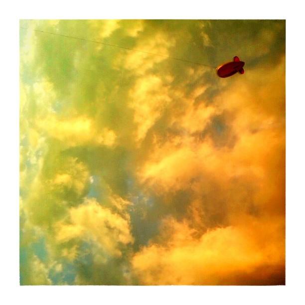 Zeppelin on a string - from Instagram