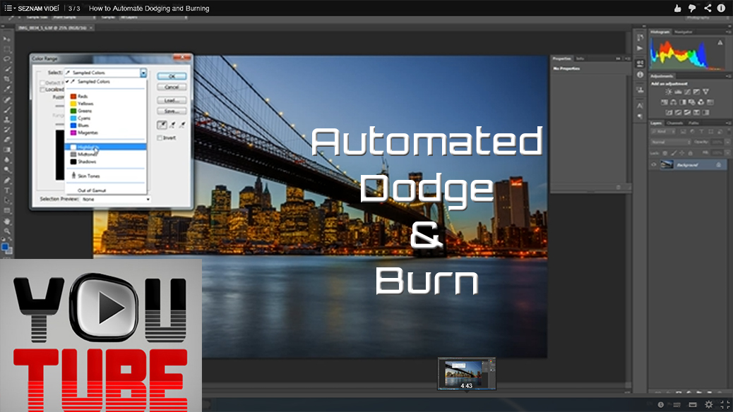 How to automate dodging and burning for your photos