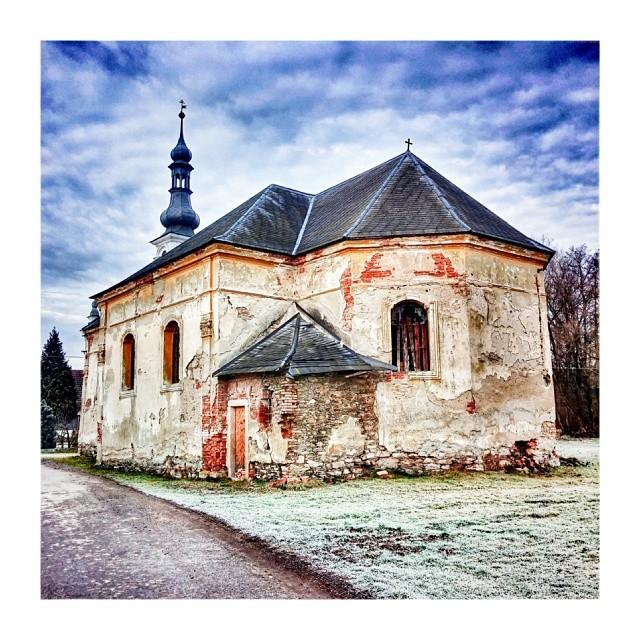 Church under winter sky - from Instagram
