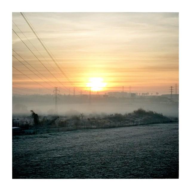 Frozen morning - from Instagram