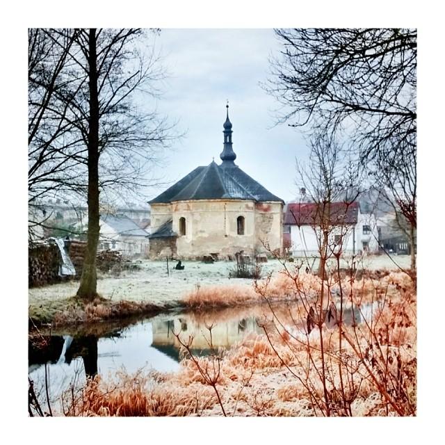 Winter tale church - from Instagram