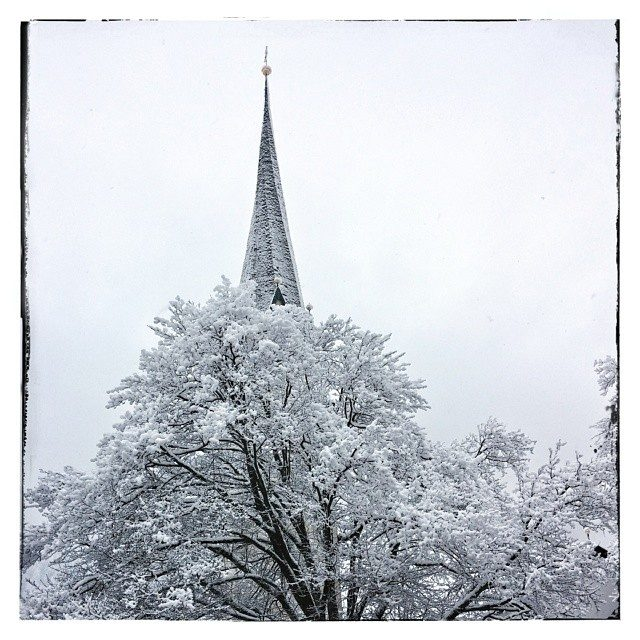 Winter tower – from Instagram