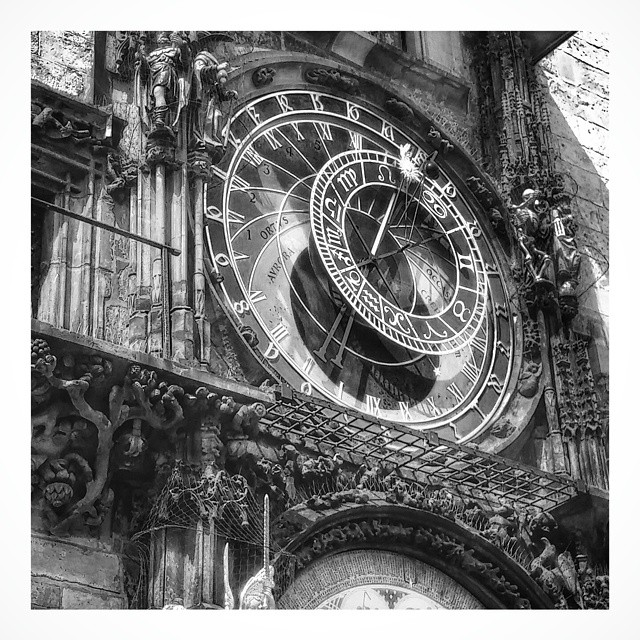 Astronomical Clock - from Instagram
