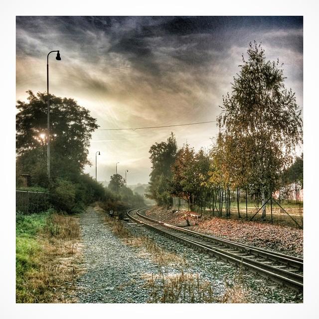 Morning Autumn Rail - from Instagram