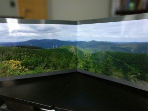 Panorama in Saal Photobook